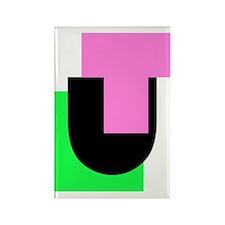 UT_LOGO-02 Rectangle Magnet