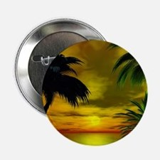 "Tropical sunset 2.25"" Button"