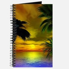 Tropical sunset Journal