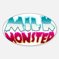 milk_monster Sticker (Oval)