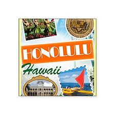 """hawaii Square Sticker 3"""" x 3"""""""