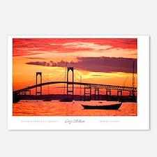 Newport-Bridge Postcards (Package of 8)
