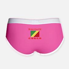 Brazzaville Congo Designs Women's Boy Brief