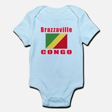 Brazzaville Congo Designs Infant Bodysuit