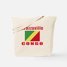 Brazzaville Congo Designs Tote Bag