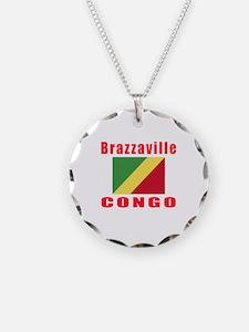 Brazzaville Congo Designs Necklace