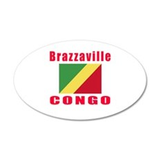 Brazzaville Congo Designs Wall Decal