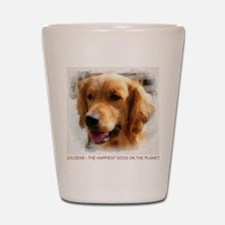 goldens Shot Glass