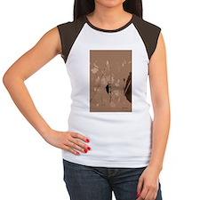 10 1787 black bug cut1 Women's Cap Sleeve T-Shirt