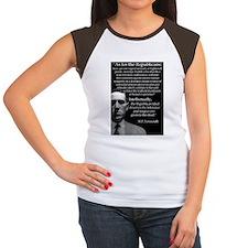 Lovecraft Postcard Women's Cap Sleeve T-Shirt