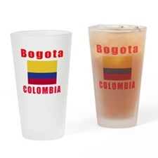 Bogota Colombia Designs Drinking Glass