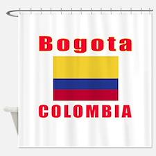 Bogota Colombia Designs Shower Curtain