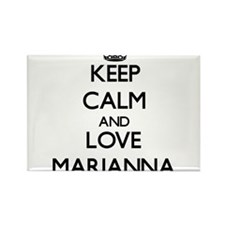 Keep Calm and Love Marianna Magnets