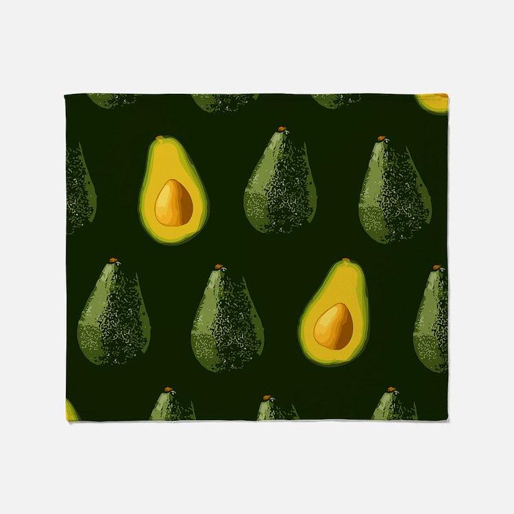avocados_8x12 Throw Blanket