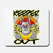 KEEPer OUT Bulldog Mousepad