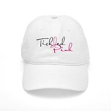 TickledPink_on_White Baseball Cap