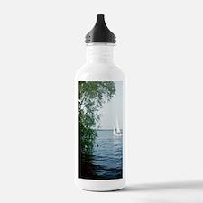 Sailing on Slotermeer Water Bottle