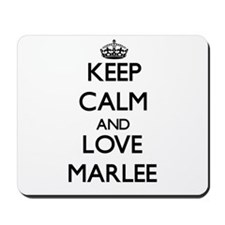 Keep Calm and Love Marlee Mousepad
