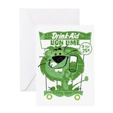 LionLime Greeting Card