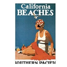 Logan California Beaches1 Postcards (Package of 8)
