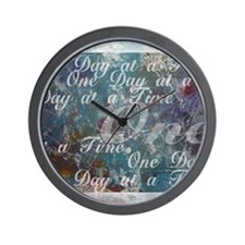 ONE-DAY-PSTR Wall Clock