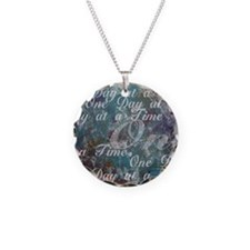 ONE-DAY-PSTR Necklace Circle Charm