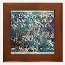 ONE-DAY-PSTR Framed Tile