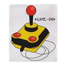 Game On Joystick Throw Blanket