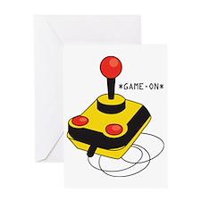 Game On Joystick Greeting Card