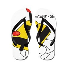 Game On Joystick Flip Flops