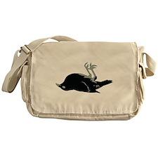 Dead RAVEN Messenger Bag