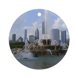 Chicago skyline Ornaments
