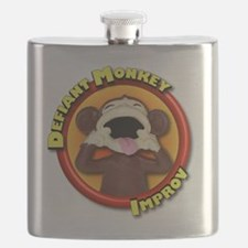 Defiant Monkey No Tag Flask