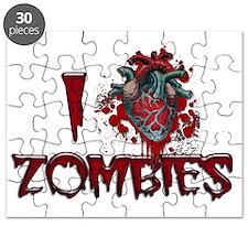 i heart zombies Puzzle