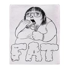 FAT Throw Blanket