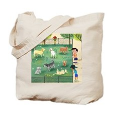 dog_park_calendar Tote Bag