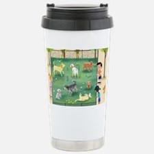 dog_park_calendar Stainless Steel Travel Mug