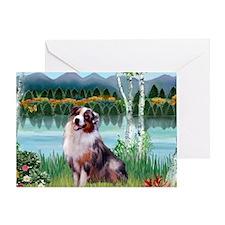 Birches - Australian MP) - Shepherd  Greeting Card
