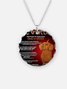 howloweenie10x10 Necklace