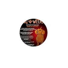 howloweenie10x10 Mini Button