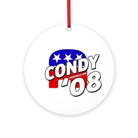 Condy '08 Ornament (Round)