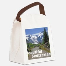 cover switzerland calendar Canvas Lunch Bag