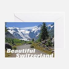 cover switzerland calendar Greeting Card