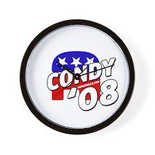 Condy '08 Wall Clock