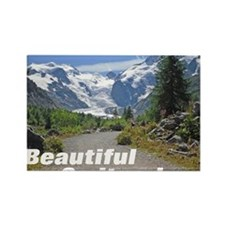 cover switzerland calendar Rectangle Magnet