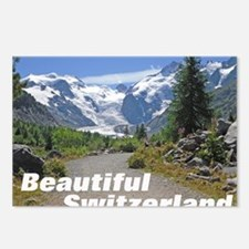 cover switzerland calenda Postcards (Package of 8)
