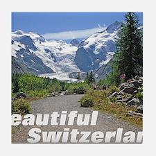 cover switzerland calendar Tile Coaster