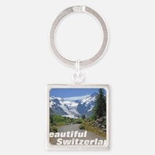 cover switzerland calendar Square Keychain