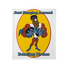 Bending Nouns Throw Blanket