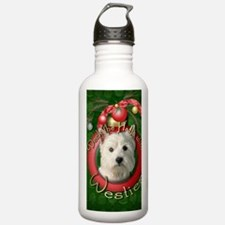 DeckHalls_Westie Water Bottle